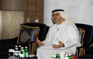 Dr Anwar Gargash, secretary of State in the Emirati Ministry of Foreign Affairs