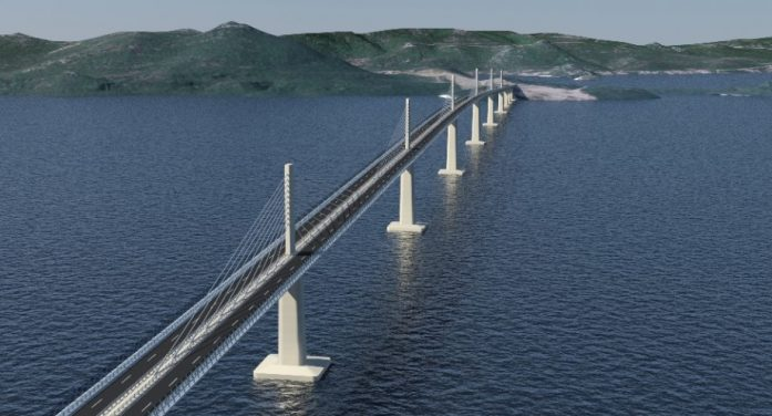 Pelješac bridge – an interesting case of infrastructure project under the Belt and Road, funded with EU money