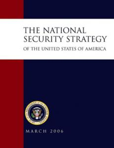 America's National Security Strategy