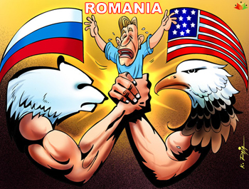 Romania: a hybrid between U.S.liberal internationalism and Russian deffensive realism